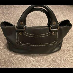 Celine Leather Boogie Bag Satchel